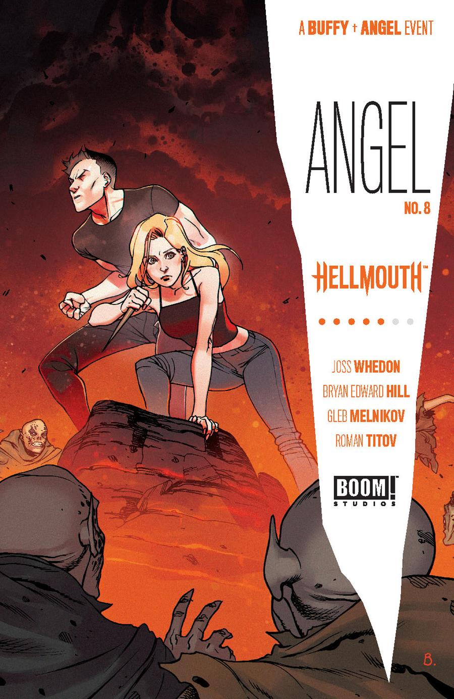 Angel Vol 4 #8 Cover D Incentive Bengal Variant Cover (Hellmouth Tie-In)