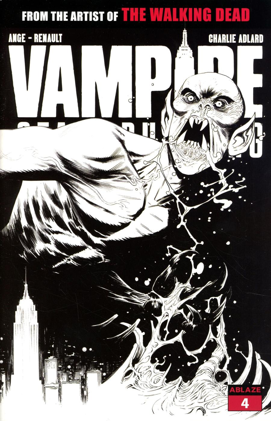Vampire State Building #4 Cover E Incentive Guilherme Balbi Glow-In-The-Dark Variant Cover