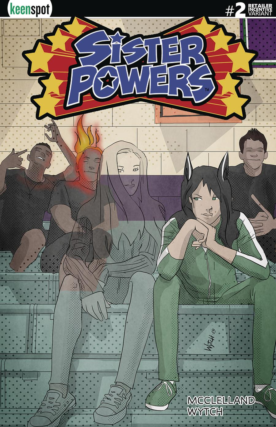 Sister Powers #2 Cover E Incentive Mario Wytch Transformed Variant Cover