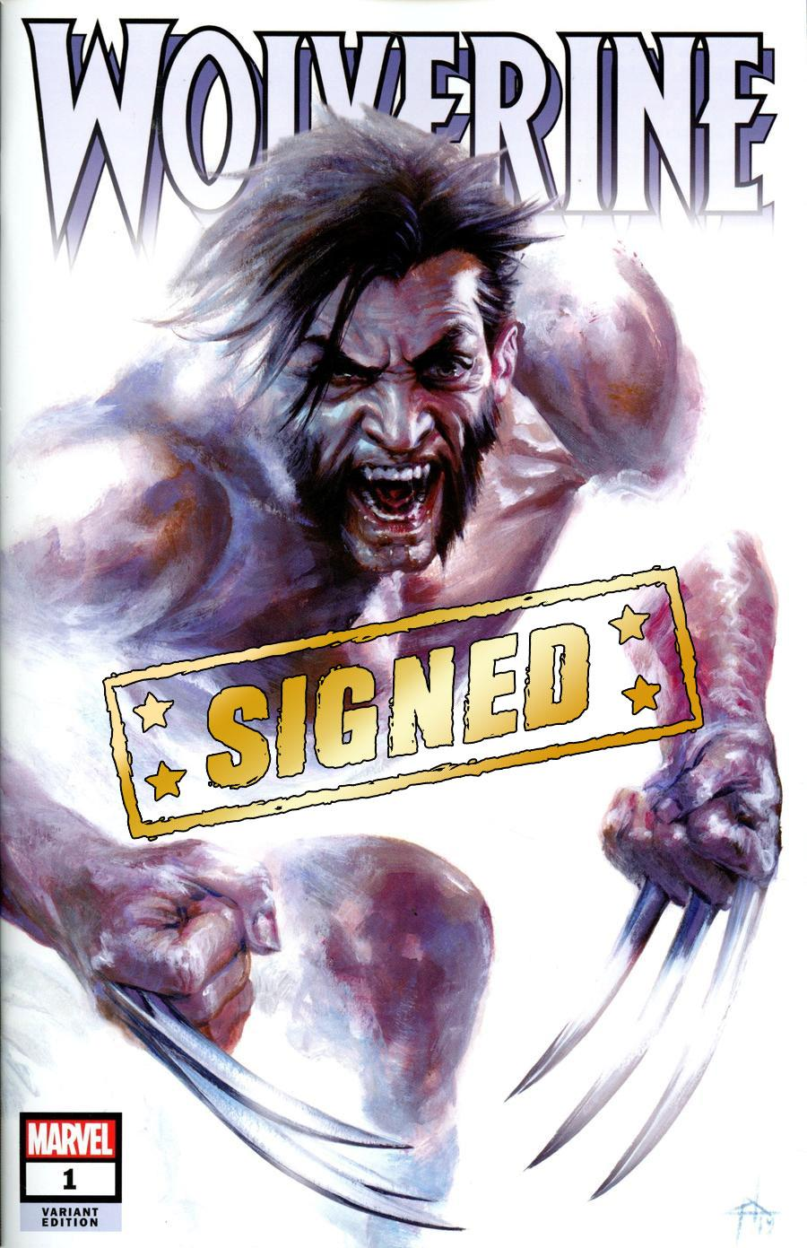 Wolverine Vol 7 #1  Midtown Exclusive Gabriele Dell Otto Variant Cover Signed By Ben Percy (Dawn Of X Tie-In)