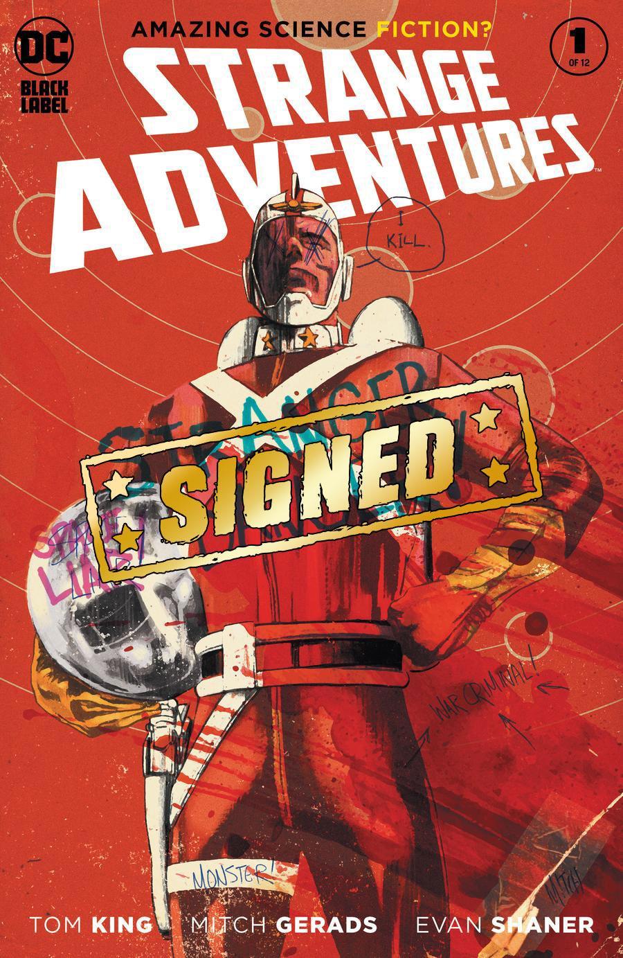 Strange Adventures Vol 4 #1 Cover E Regular Mitch Gerads Cover Signed By Tom King