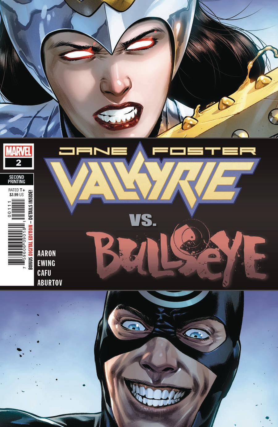 Valkyrie Jane Foster #2 Cover C 2nd Ptg Variant CAFU Cover