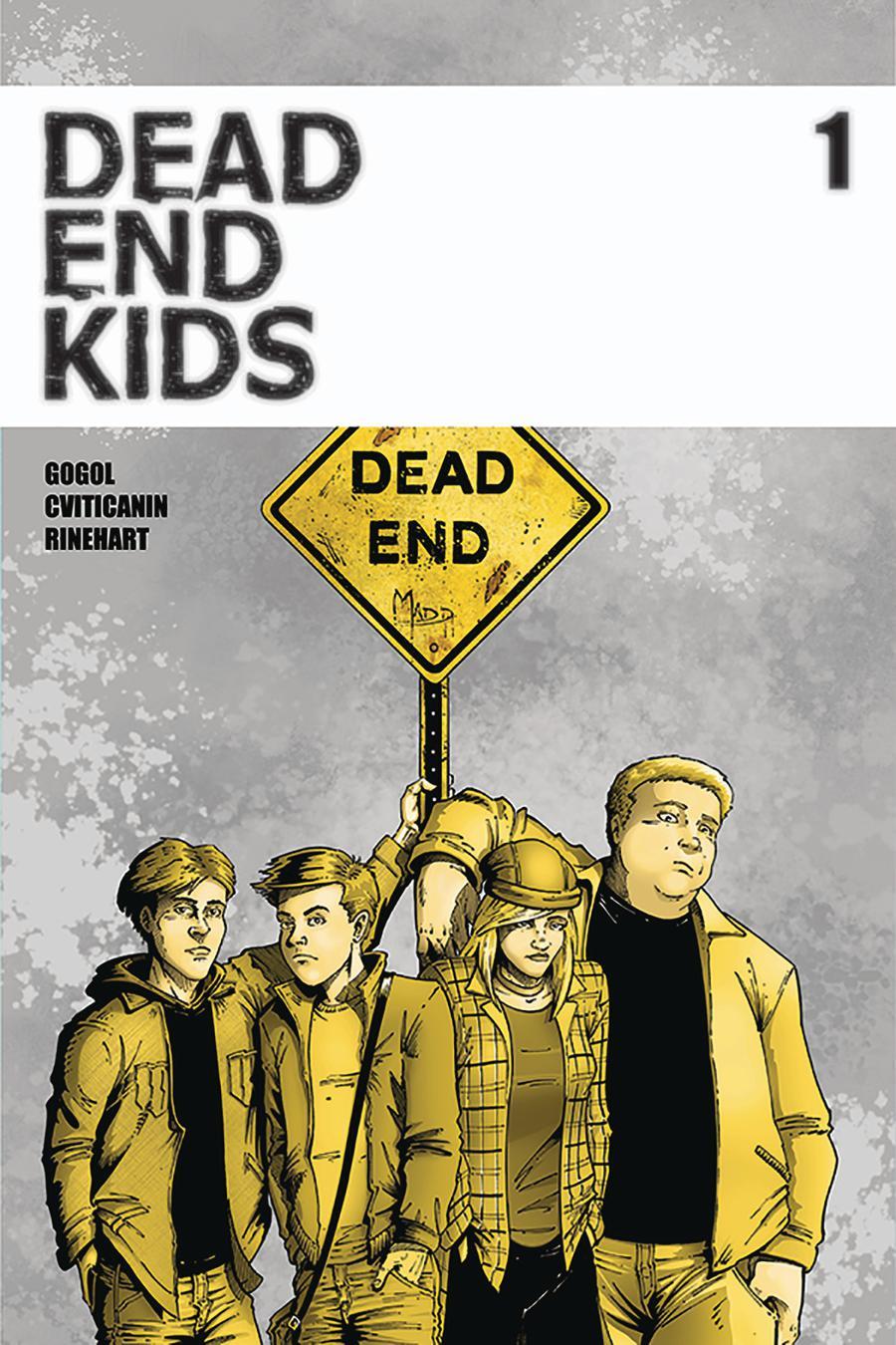 Dead End Kids #1 Cover B 2nd Ptg Variant Frank Gogol Cover