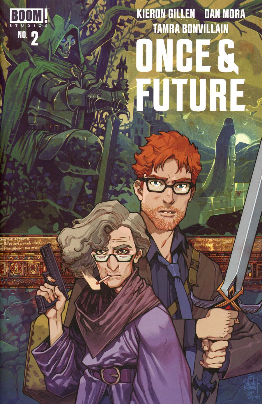 Once & Future #2 Cover B 2nd Ptg Variant Cover
