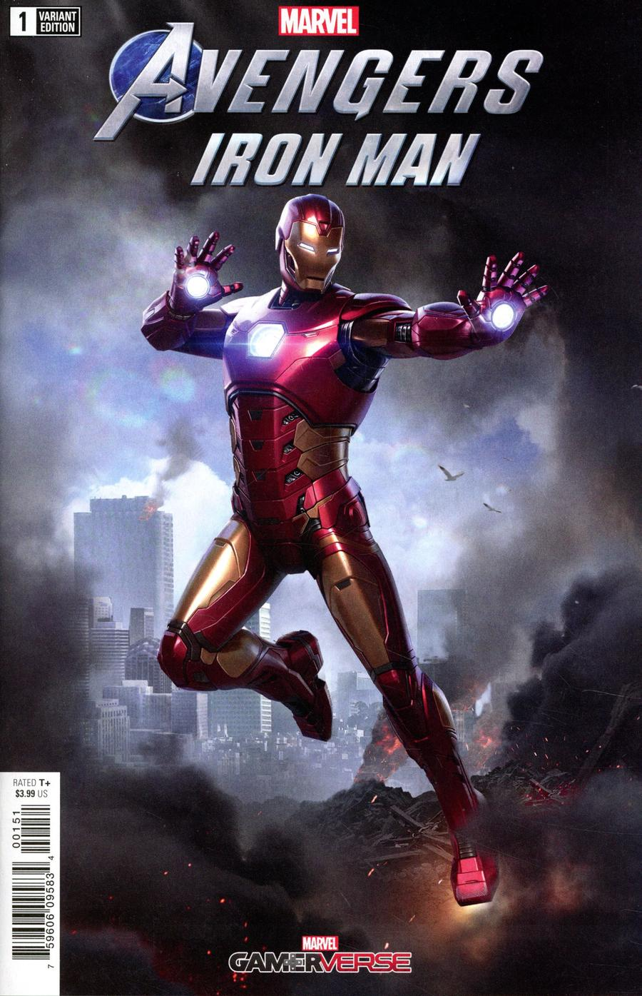 Marvels Avengers Iron Man #1 Cover C Variant Game Cover