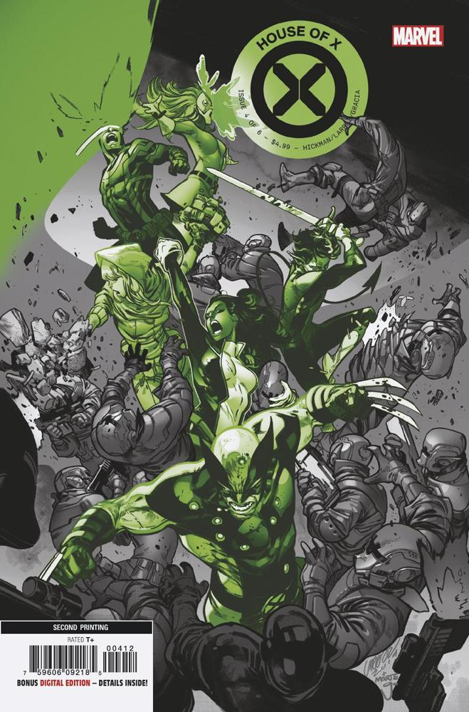 House Of X #4 Cover I 2nd Ptg Variant Pepe Larraz Cover