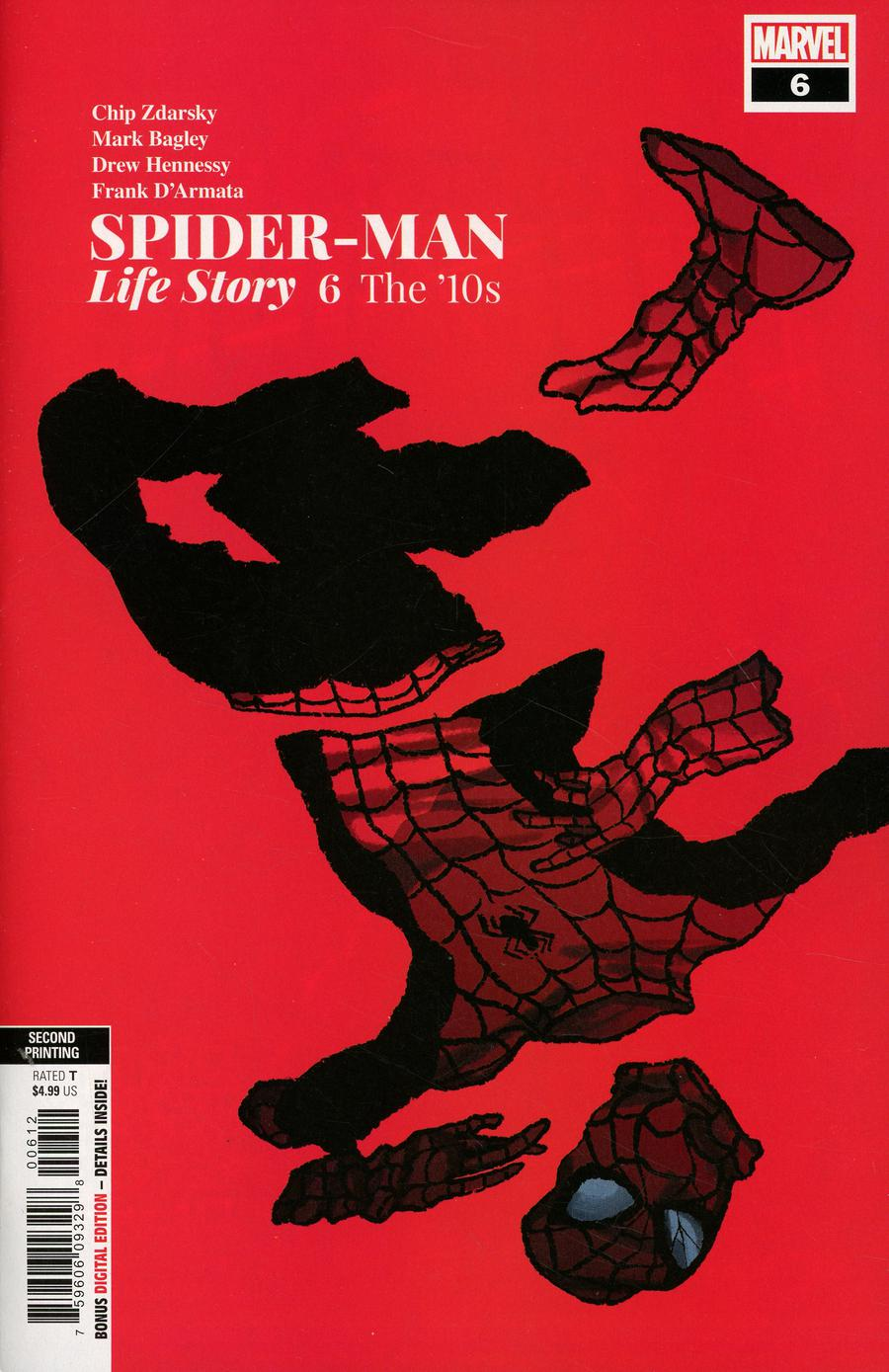 Spider-Man Life Story #6 Cover C 2nd Ptg Variant Chip Zdarsky Cover