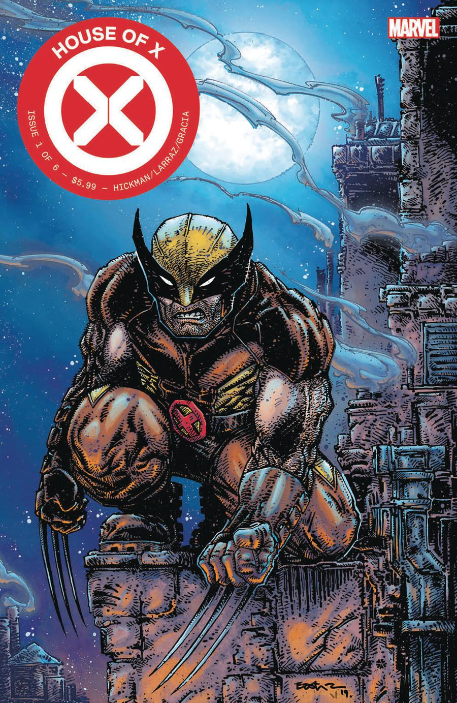 House Of X #1 Cover U Clover Press Exclusive Kevin Eastman Variant Cover