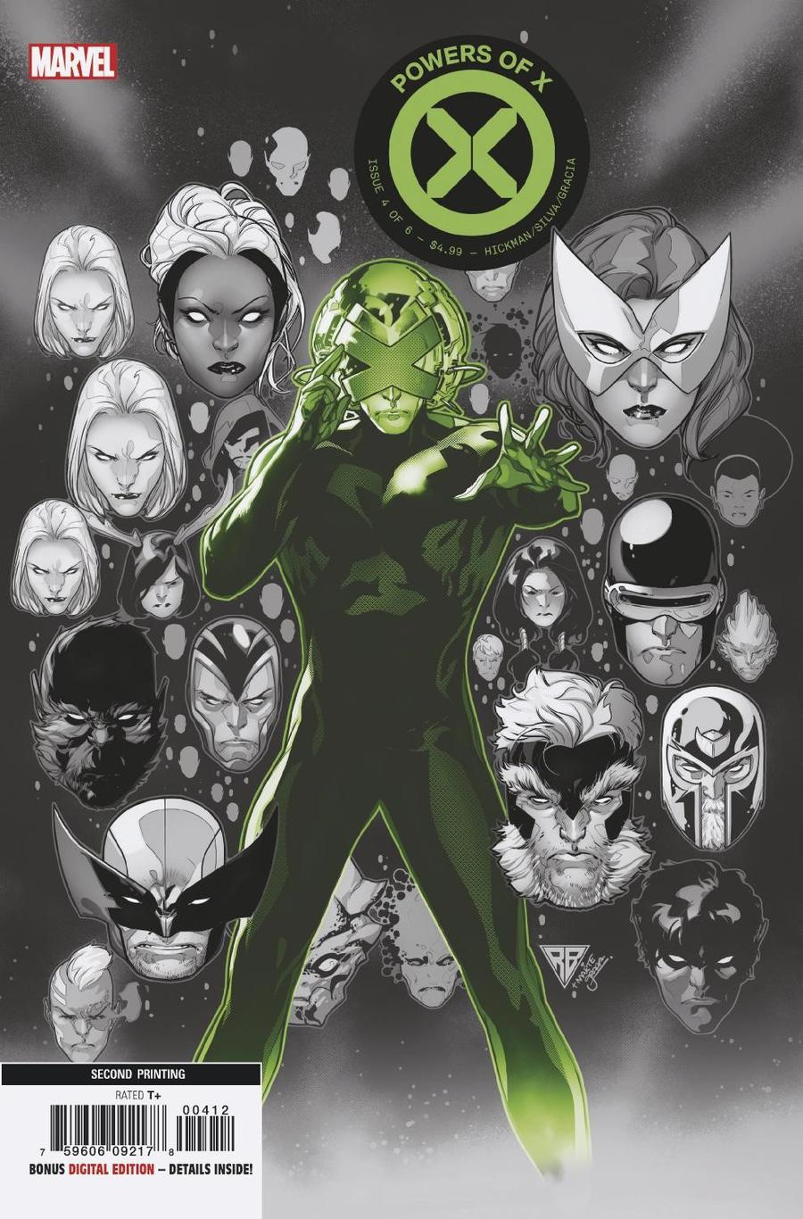 Powers Of X #4 Cover I 2nd Ptg Variant RB Silva Cover