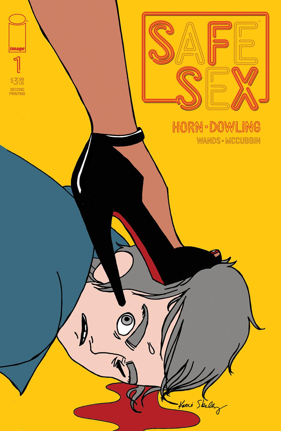 SFSX (Safe Sex) #1 Cover B 2nd Ptg Variant Katie Skelly Cover