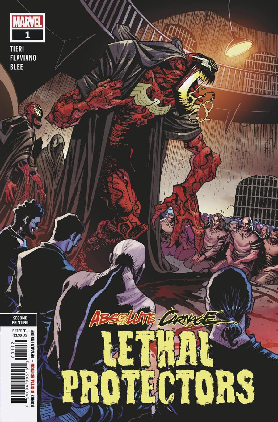 Absolute Carnage Lethal Protectors #1 Cover F 2nd Ptg Variant Flaviano Armentaro Cover