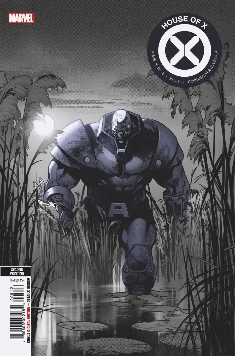 House Of X #5 Cover I 2nd Ptg Pepe Larraz Cover