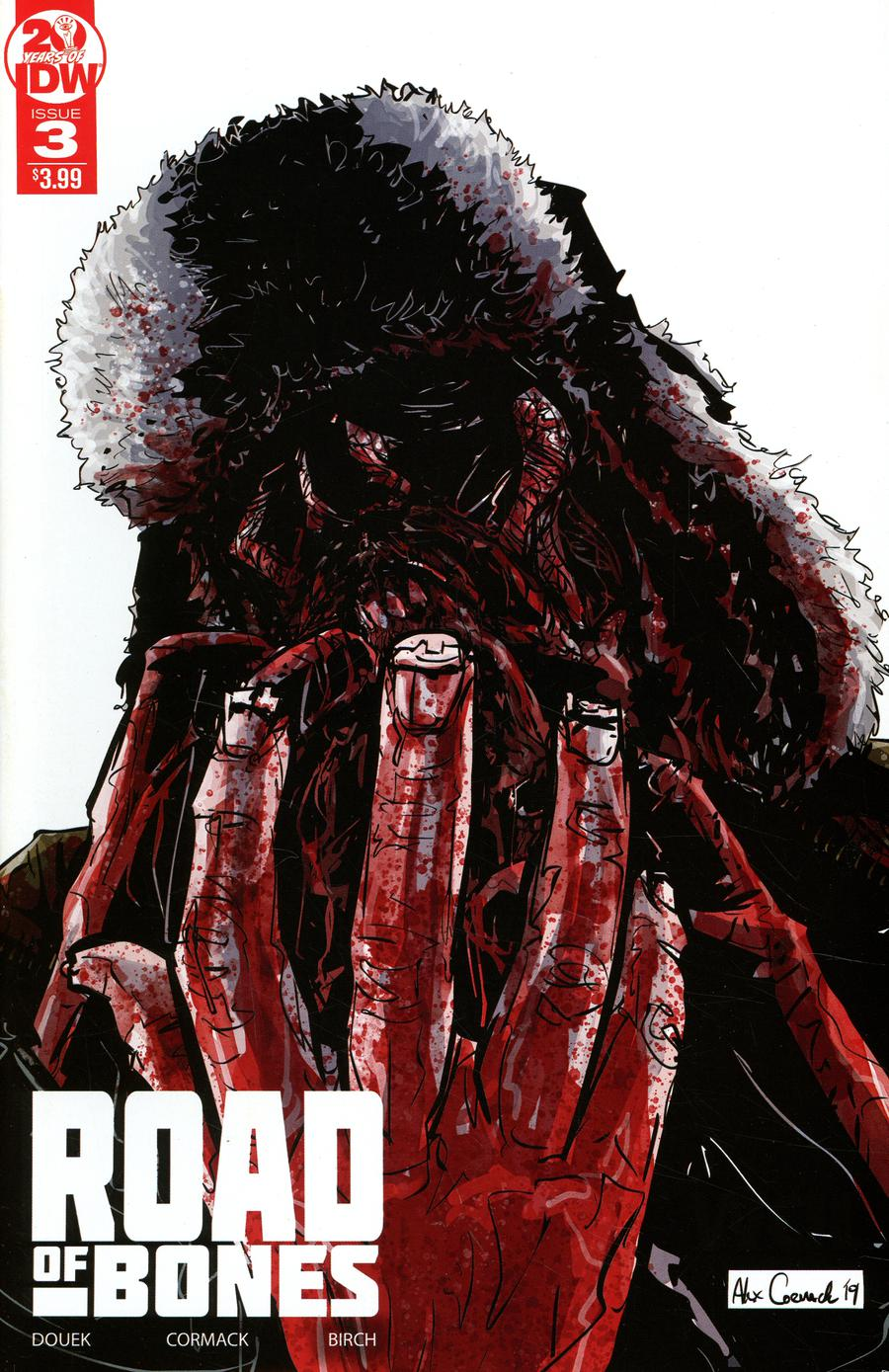 Road Of Bones #3 Cover B 2nd Ptg Variant Alex Cormack Cover