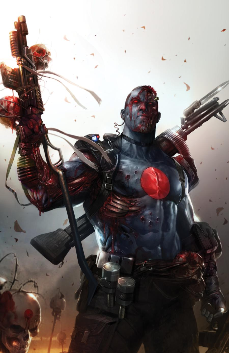 Bloodshot Vol 4 #1  Midtown Exclusive Francesco Mattina NYCC Foil Virgin Variant Cover