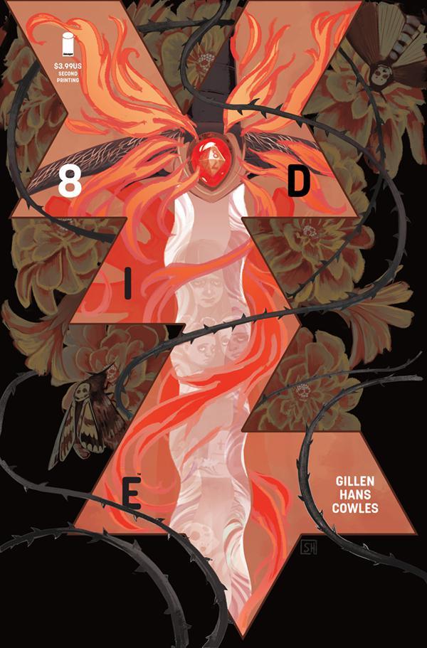 Die #8 Cover C 2nd Ptg Variant Stephanie Hans Cover