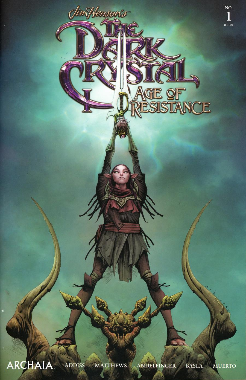 Jim Hensons Dark Crystal Age Of Resistance #1 Cover H 2nd Ptg Variant Jae Lee Cover