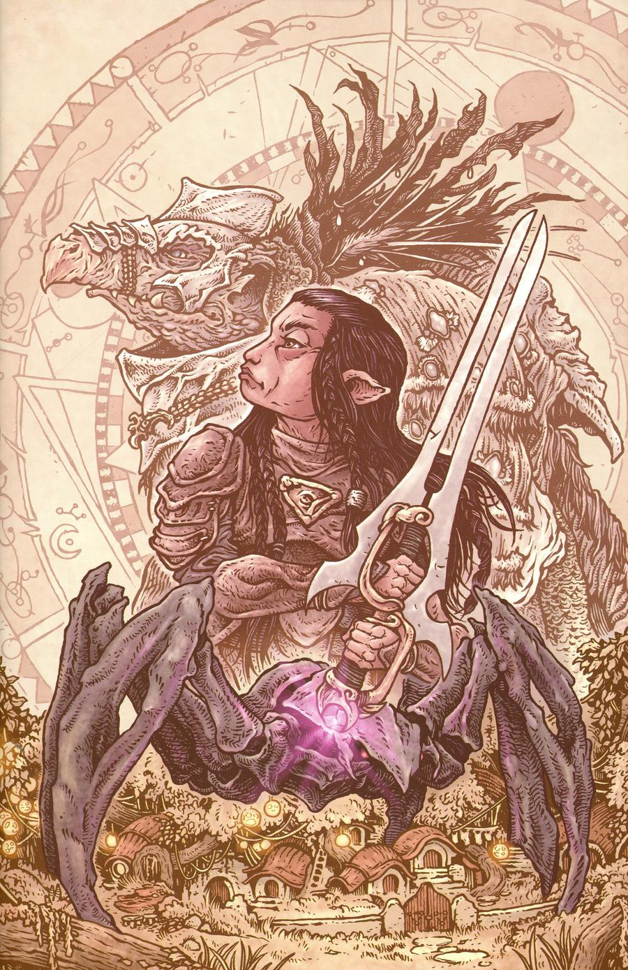 Jim Hensons Dark Crystal Age Of Resistance #2 Cover C Variant David Petersen Cover