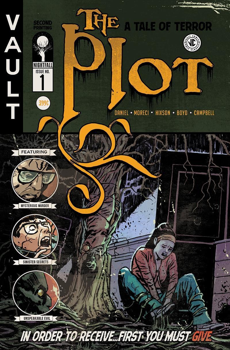 Plot #1 Cover D 2nd Ptg Variant Josh Hixson Cover