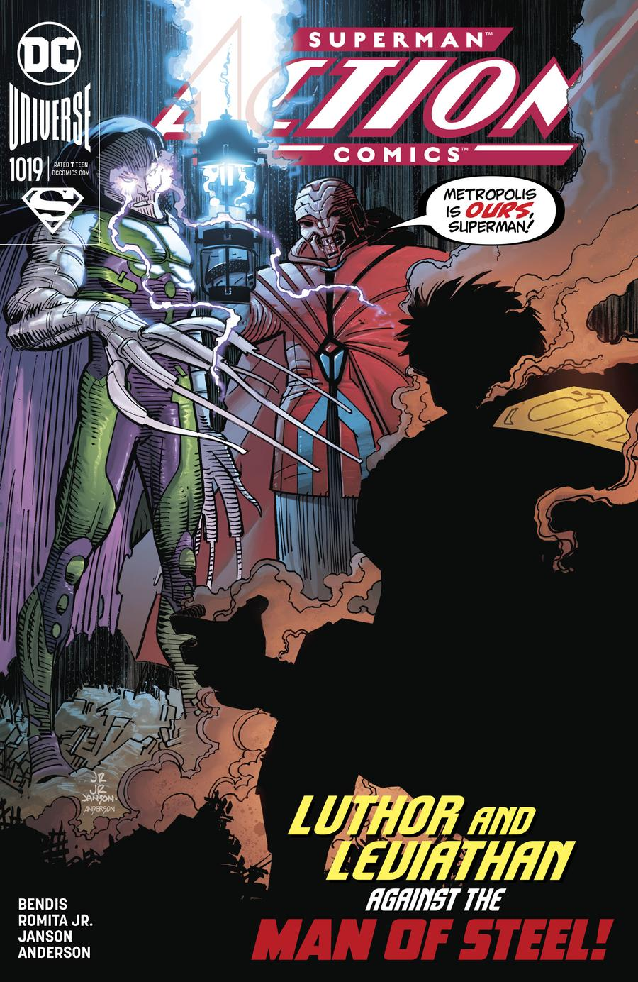 Action Comics Vol 2 #1019 Cover A Regular John Romita Jr & Klaus Janson Cover