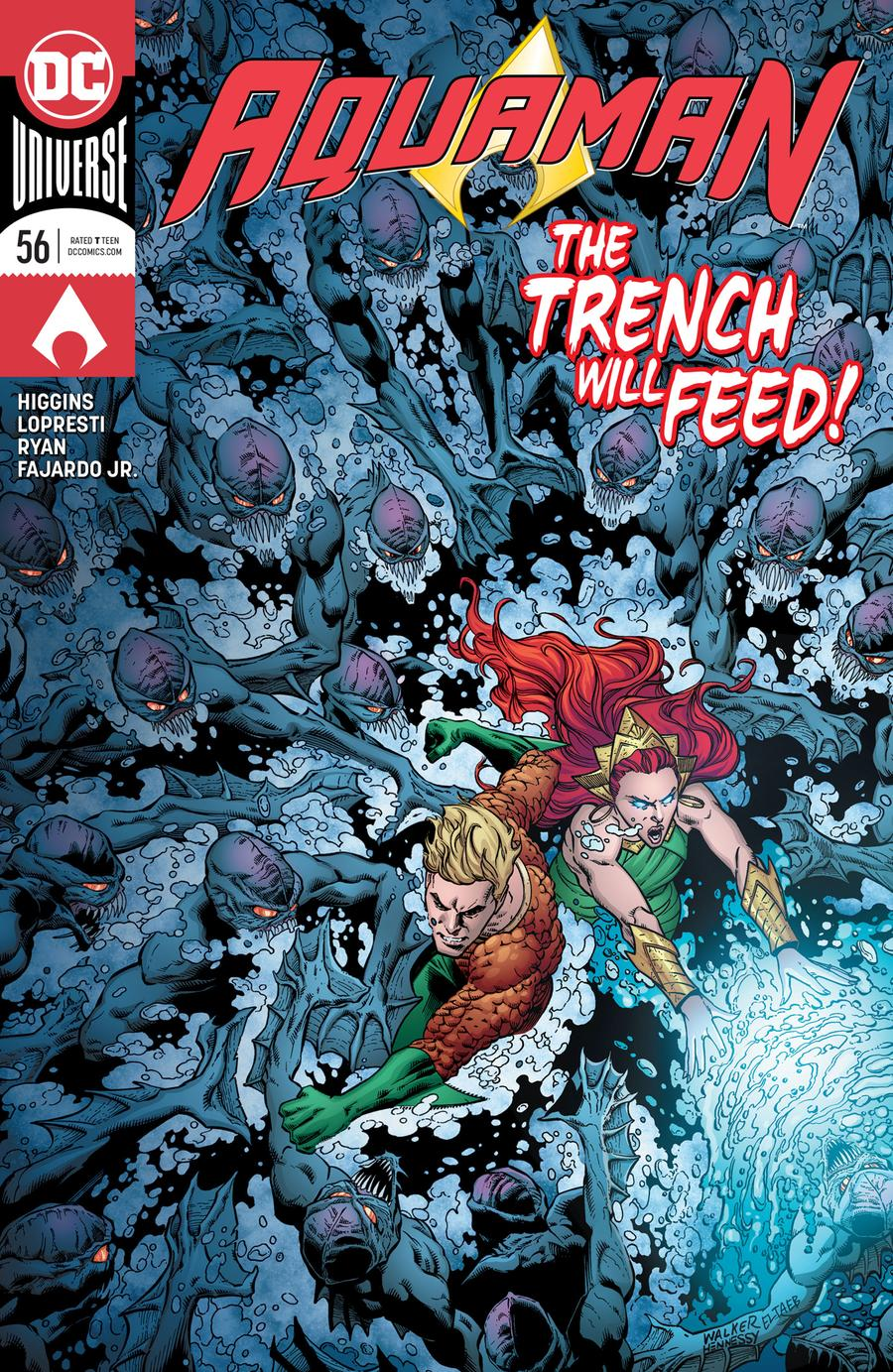 Aquaman Vol 6 #56 Cover A Regular Brad Walker & Andrew Hennessy Cover