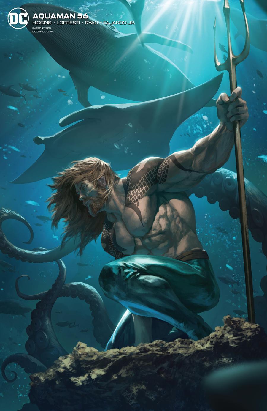 Aquaman Vol 6 #56 Cover B Variant Skan Cover