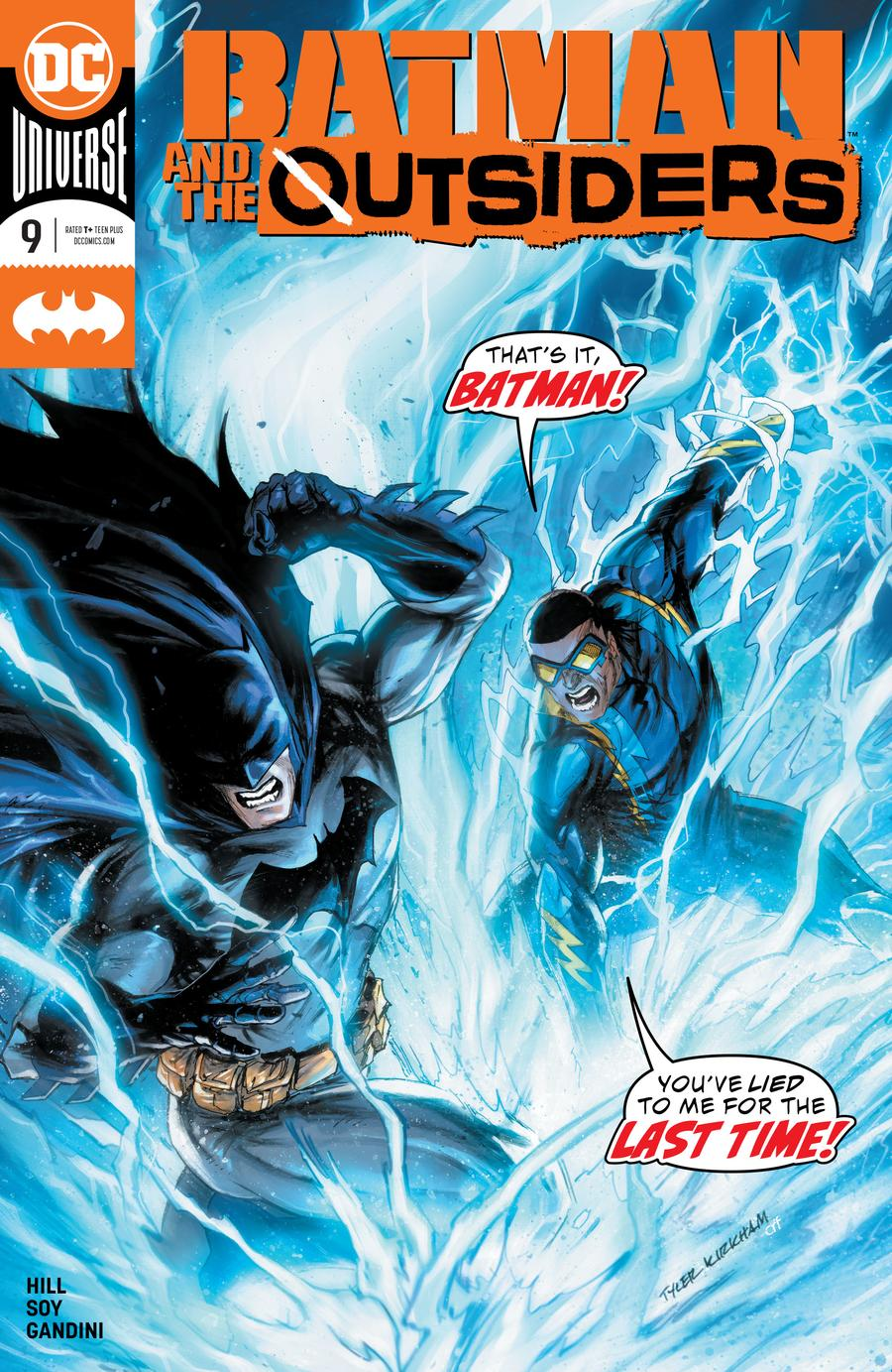 Batman And The Outsiders Vol 3 #9 Cover A Regular Tyler Kirkham Cover