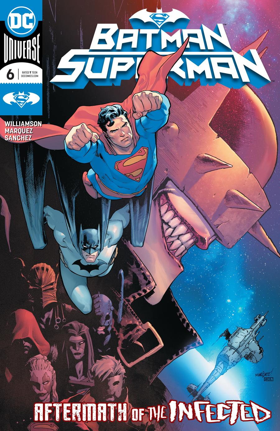 Batman Superman Vol 2 #6 Cover A Regular David Marquez Cover