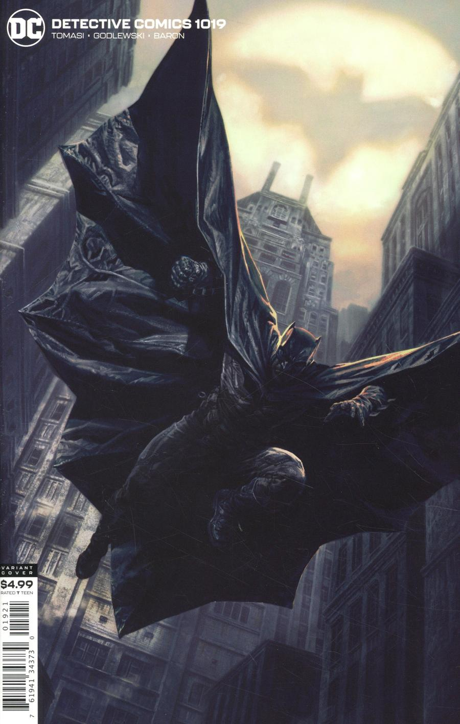 Detective Comics Vol 2 #1019 Cover B Variant Lee Bermejo Card Stock Cover