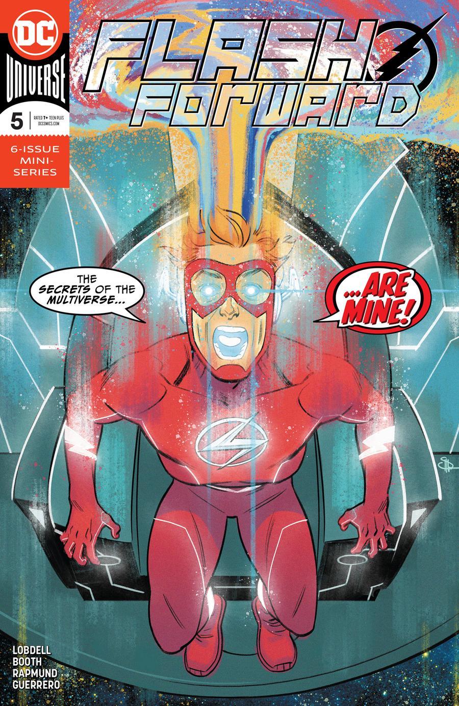 Flash Forward #5 Cover A Regular Evan Doc Shaner Cover