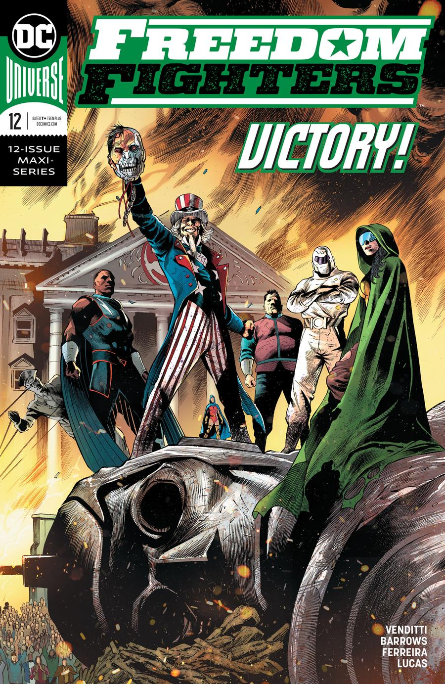Freedom Fighters Vol 3 #12