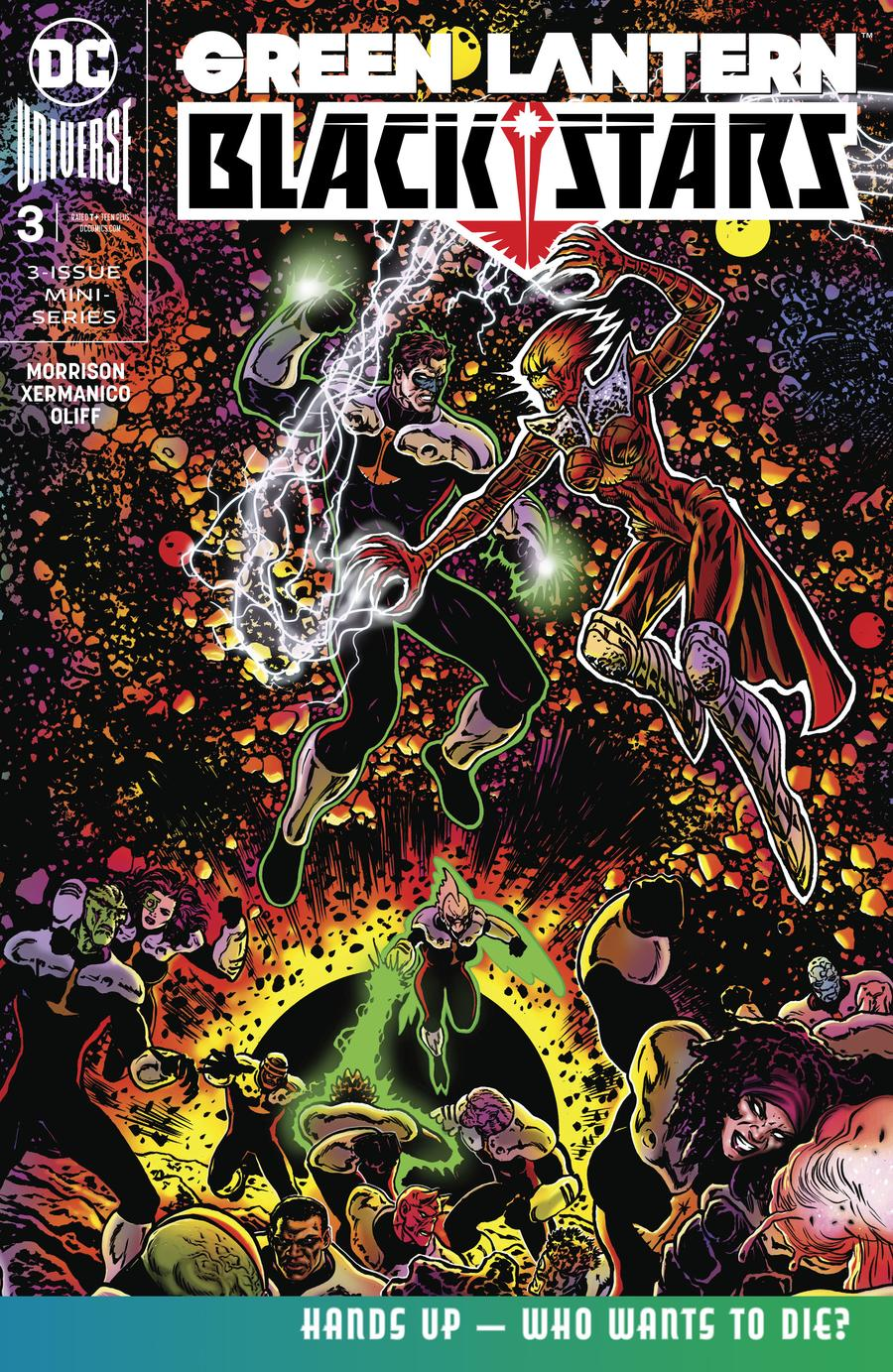 Green Lantern Blackstars #3 Cover A Regular Liam Sharp Cover