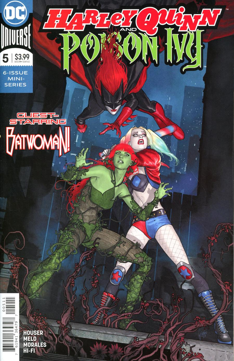 Harley Quinn And Poison Ivy #5 Cover A Regular Mikel Janin Cover