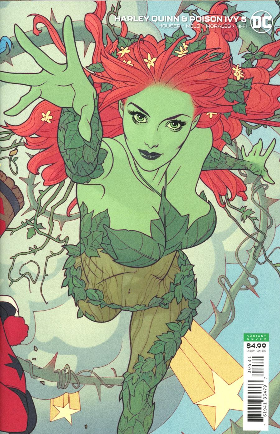Harley Quinn And Poison Ivy #5 Cover C Variant Joshua Middleton Poison Ivy Card Stock Cover