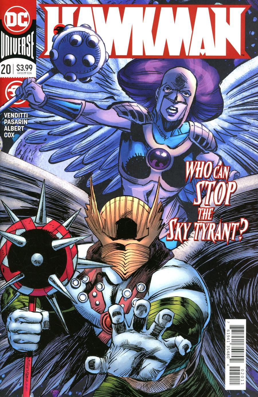 Hawkman Vol 5 #20 Cover A Regular Pat Olliffe & Tom Palmer Cover