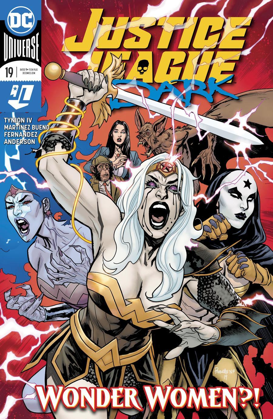 Justice League Dark Vol 2 #19 Cover A Regular Yanick Paquette Cover