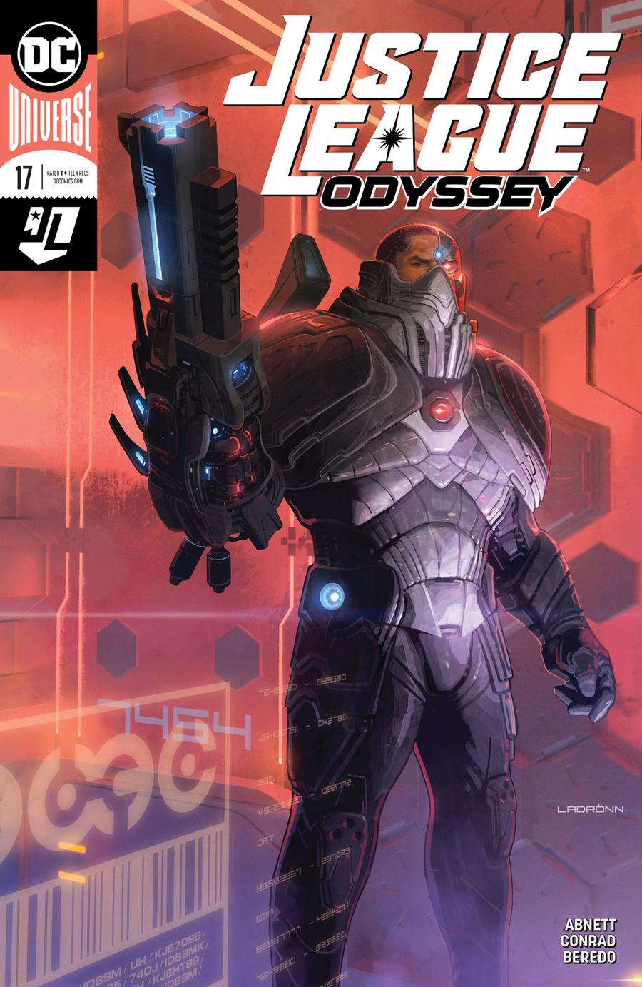 Justice League Odyssey #17 Cover A Regular Jose Ladronn Cover