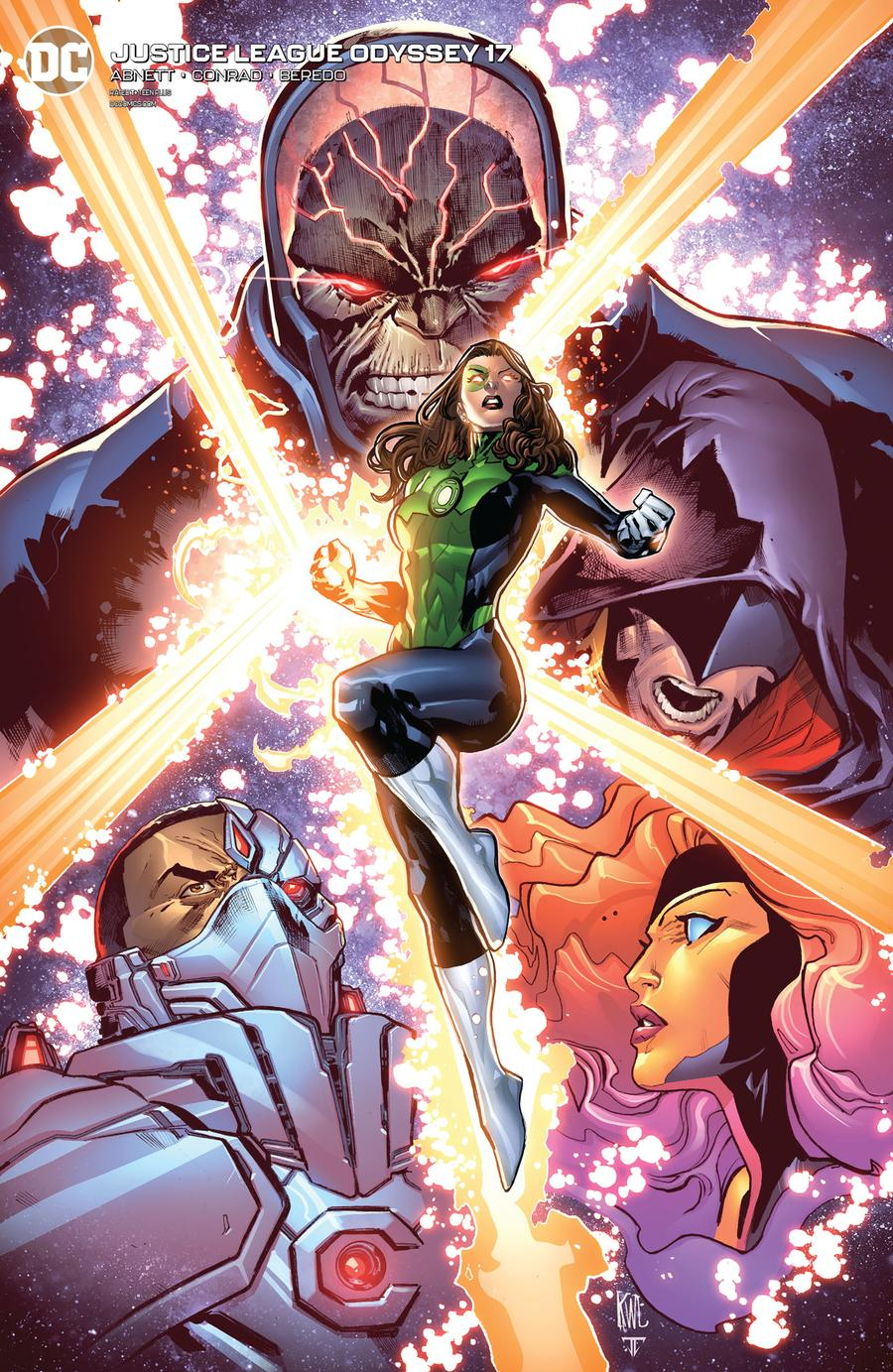 Justice League Odyssey #17 Cover B Variant Ken Lashley Cover
