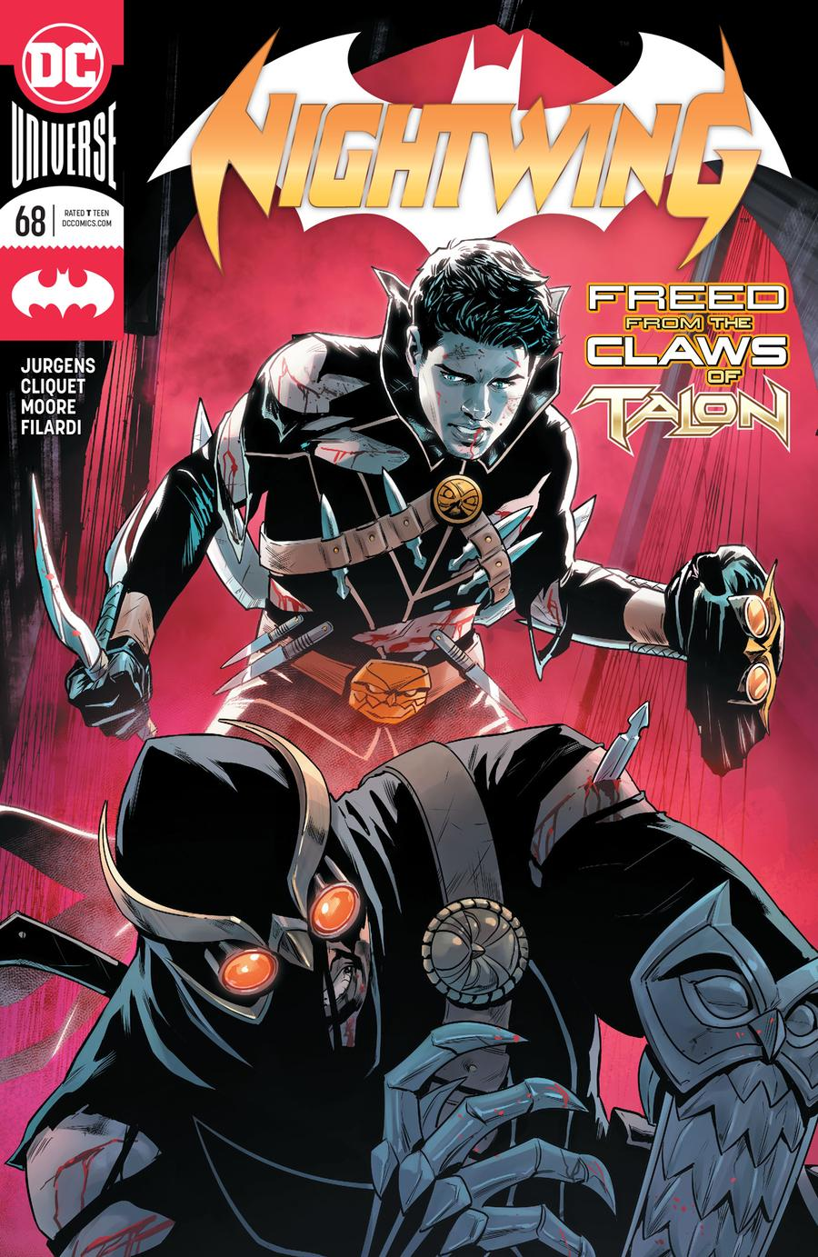 Nightwing Vol 4 #68 Cover A Regular Travis Moore Cover