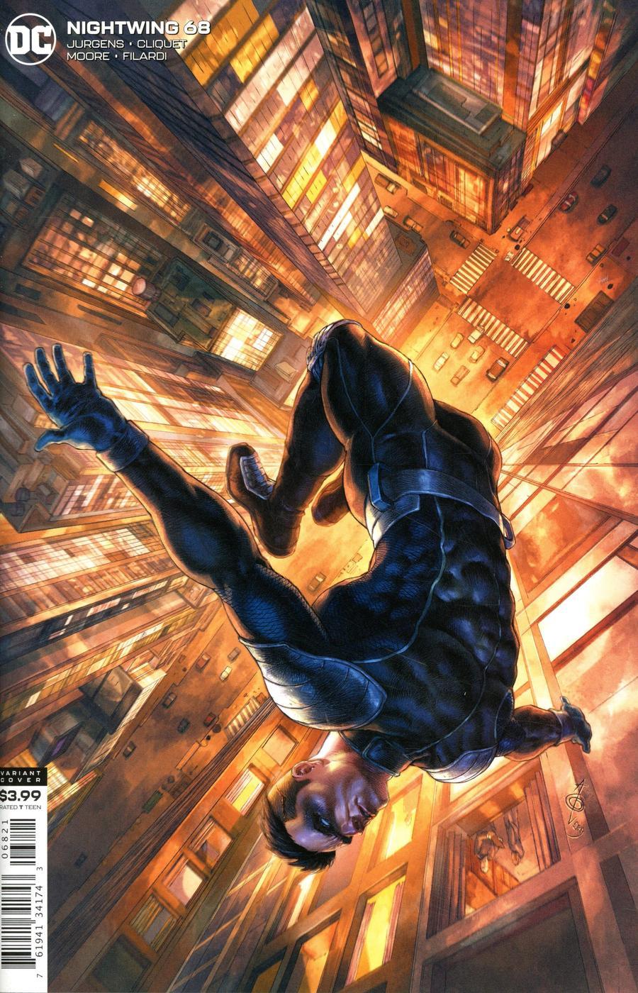 Nightwing Vol 4 #68 Cover B Variant Alan Quah Cover
