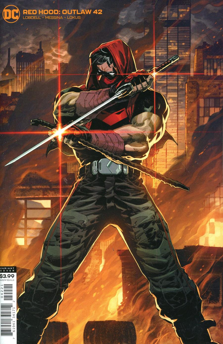 Red Hood Outlaw #42 Cover B Variant Philip Tan Cover