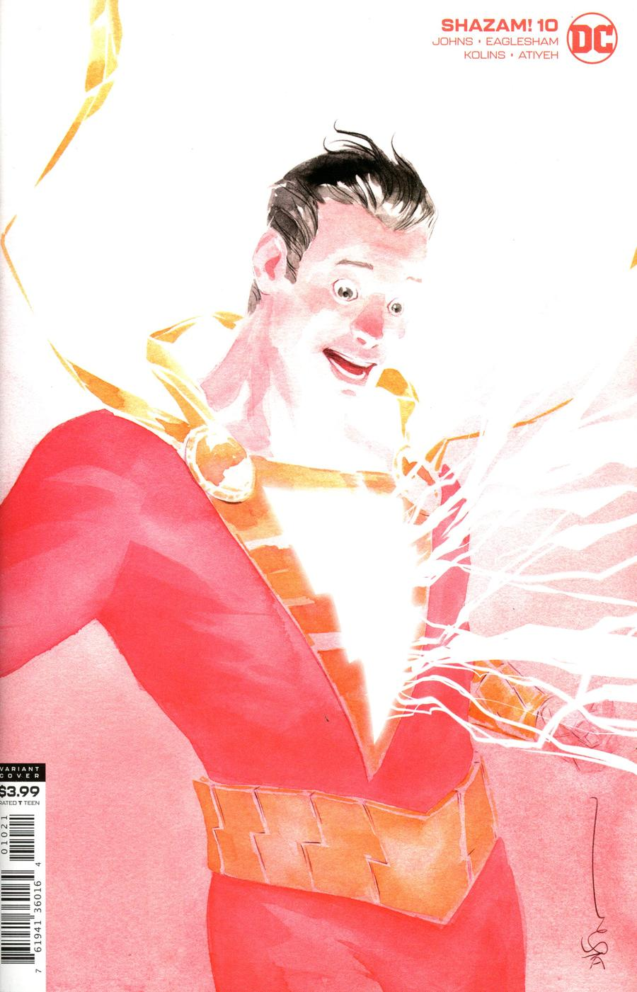 SHAZAM Vol 2 #10 Cover B Variant Dustin Nguyen Cover