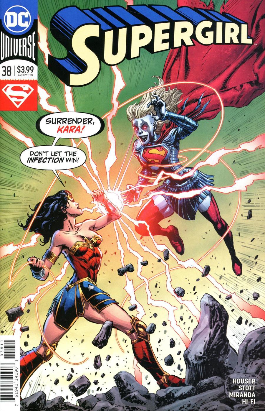 Supergirl Vol 7 #38 Cover A Regular Mike Perkins Cover
