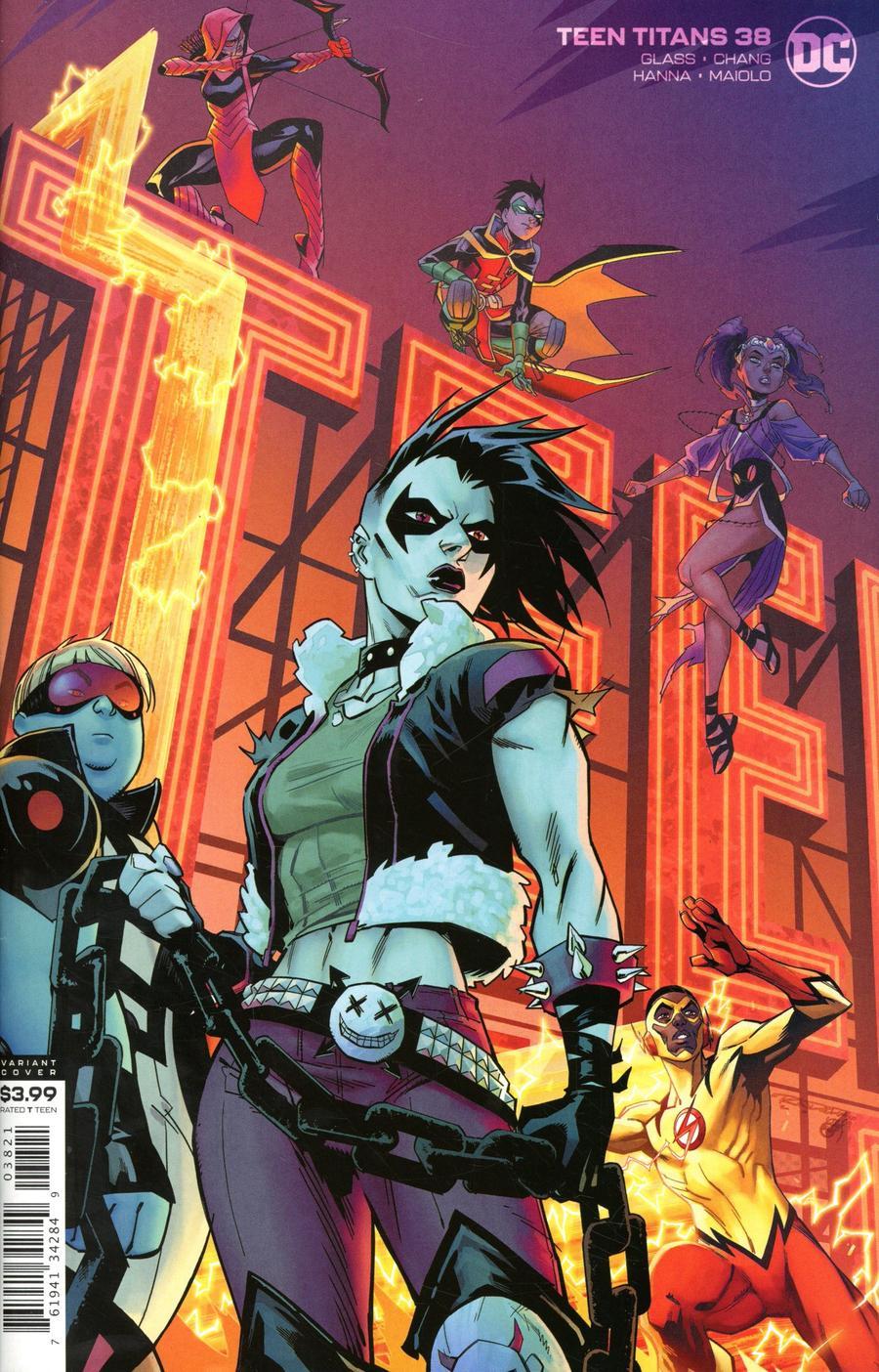 Teen Titans Vol 6 #38 Cover B Variant Khary Randolph Cover
