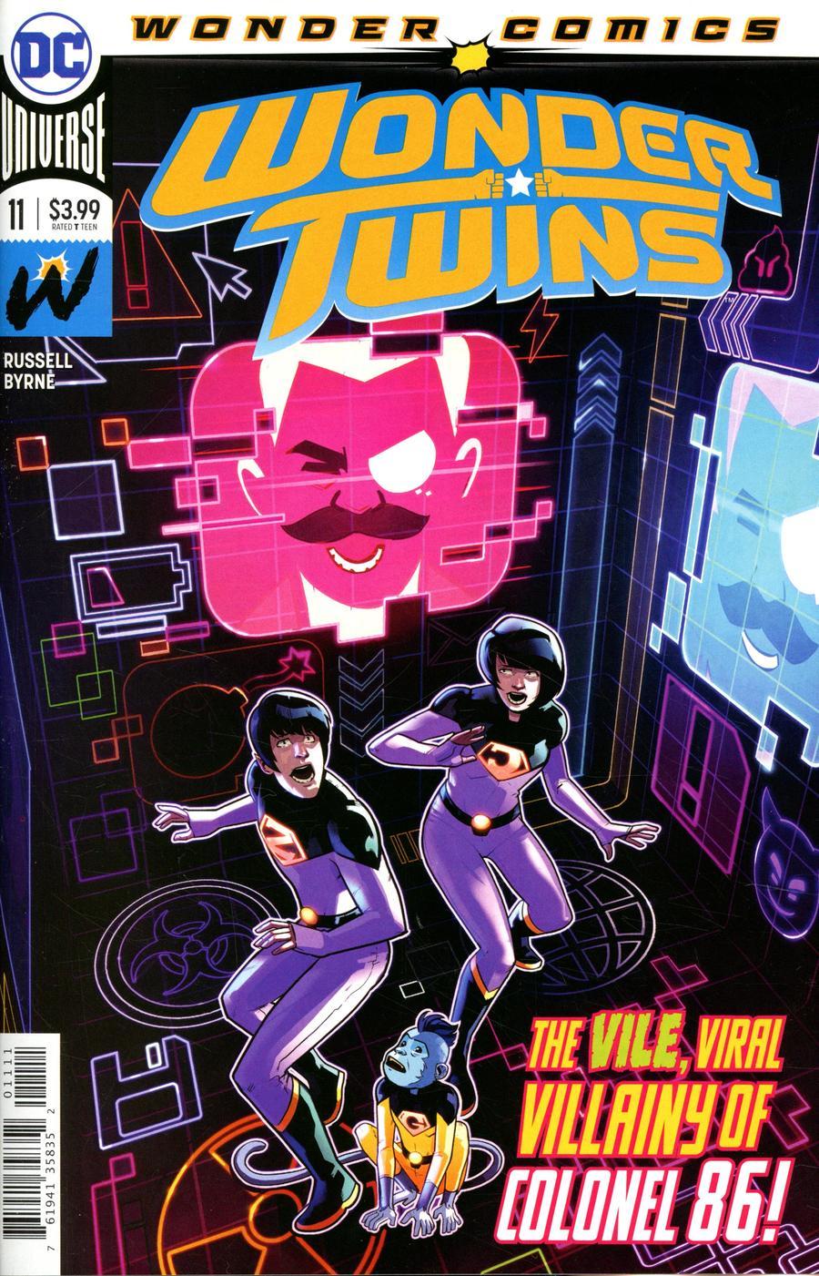 Wonder Twins #11