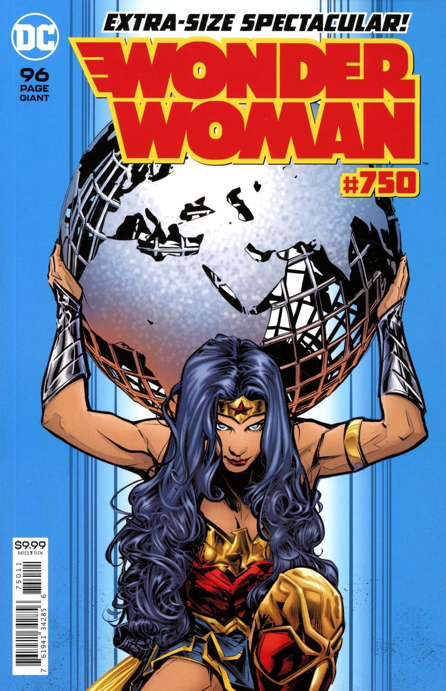 Wonder Woman Vol 5 #750 Cover A Regular Joelle Jones Cover