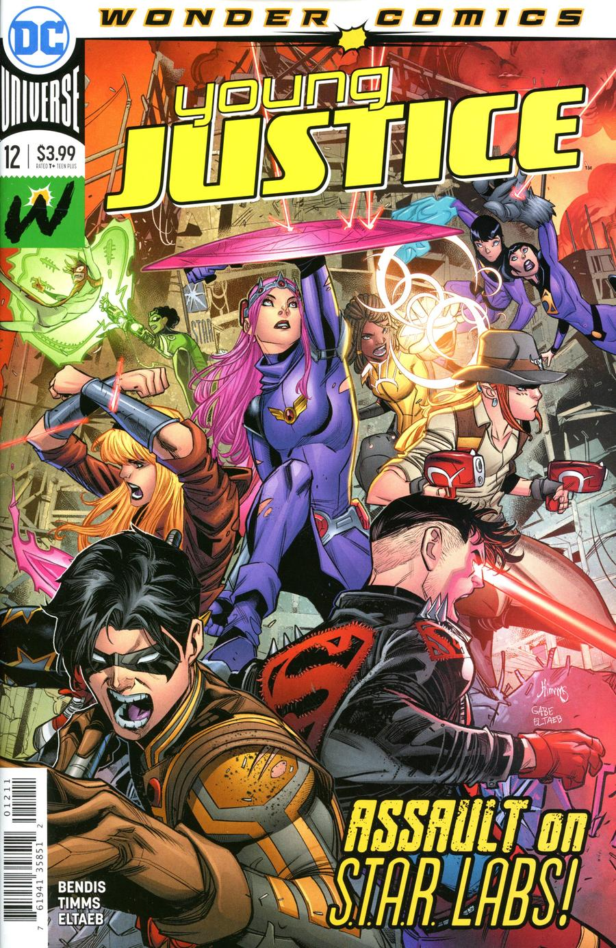 Young Justice Vol 3 #12 Cover A Regular John Timms Cover