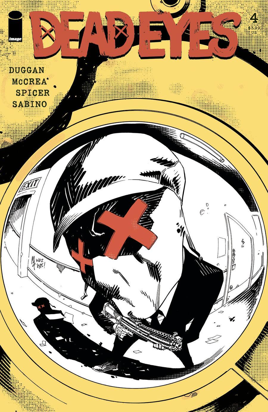 Dead Eyes #4 Cover A Regular John McCrea Cover