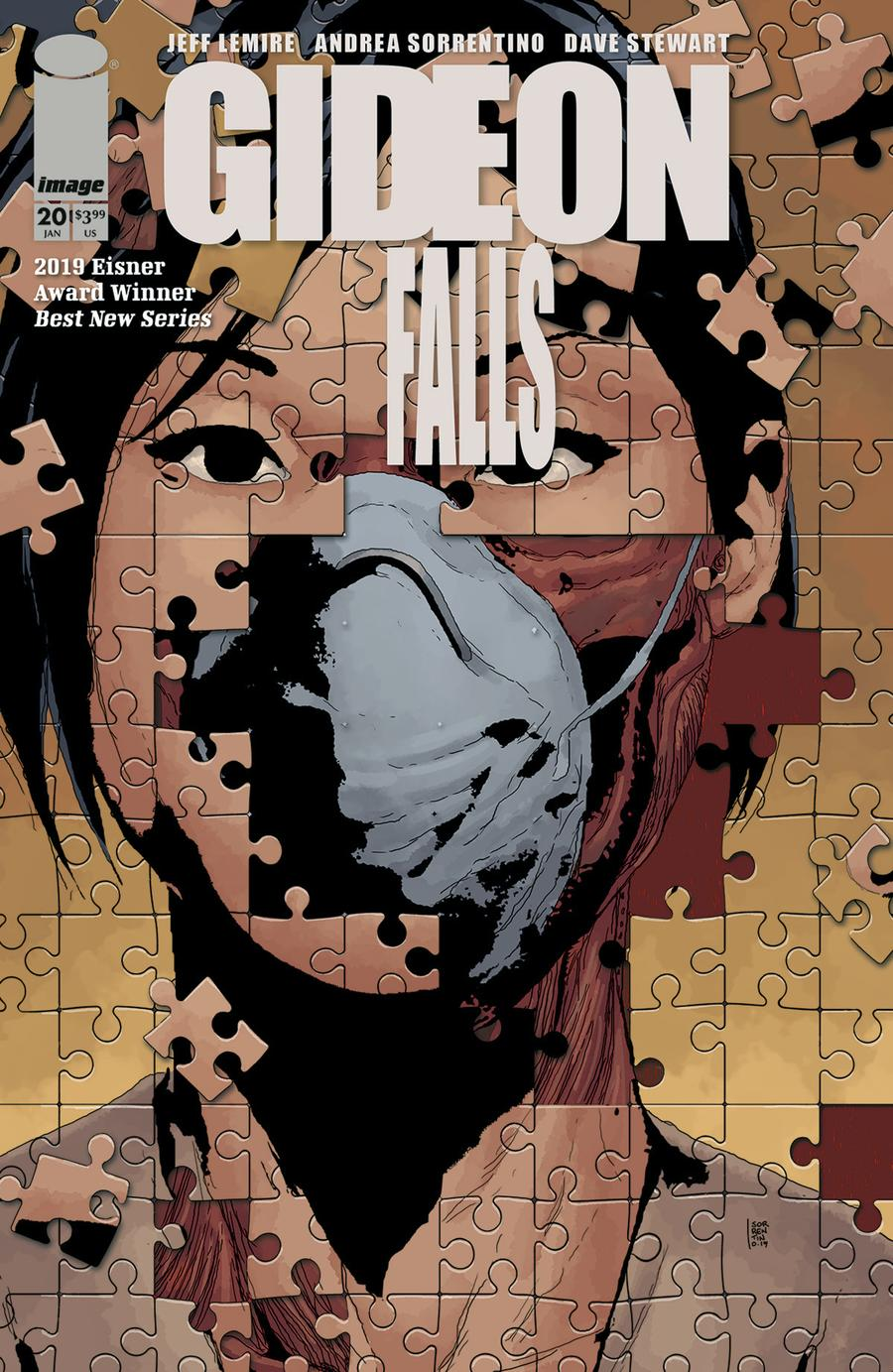 Gideon Falls #20 Cover A Regular Andrea Sorrentino Cover