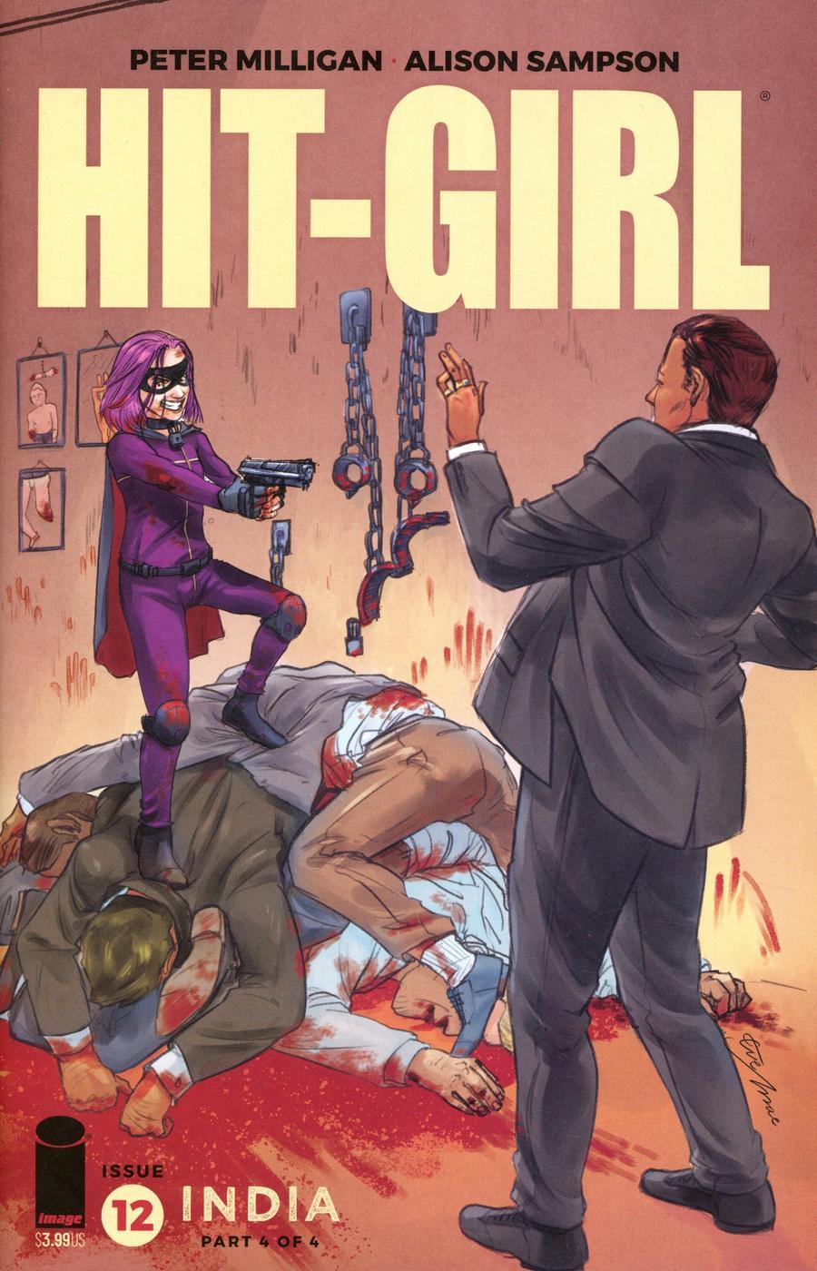 Hit-Girl Vol 2 Season 2 #12 Cover C Variant Eve Mae Roman Cover