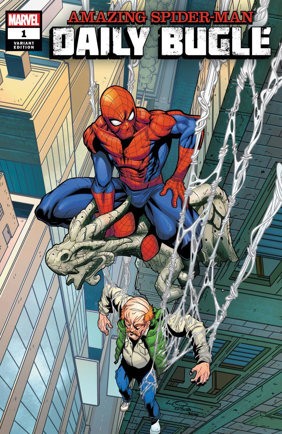 Amazing Spider-Man Daily Bugle #1 Cover B Variant Logan Lubera Cover
